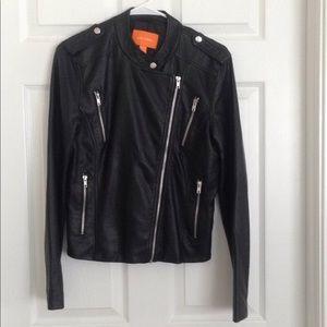 Joe Fresh Faux Leather Jacket, size Medium